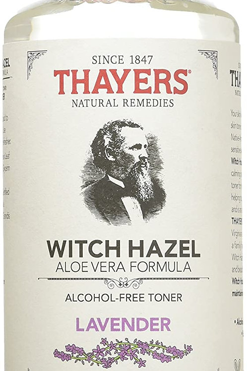 THAYERS Rose Petal & Lavender Alcohol-Free Witch Hazel with Aloe Vera