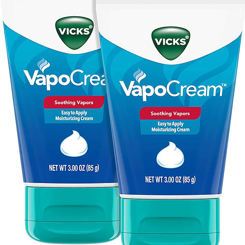 Vicks VapoCream, Soothing & Moisturizing Vapor Cream