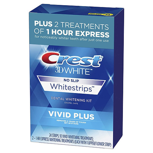 Crest 3D White Whitening Strips (24 Count)