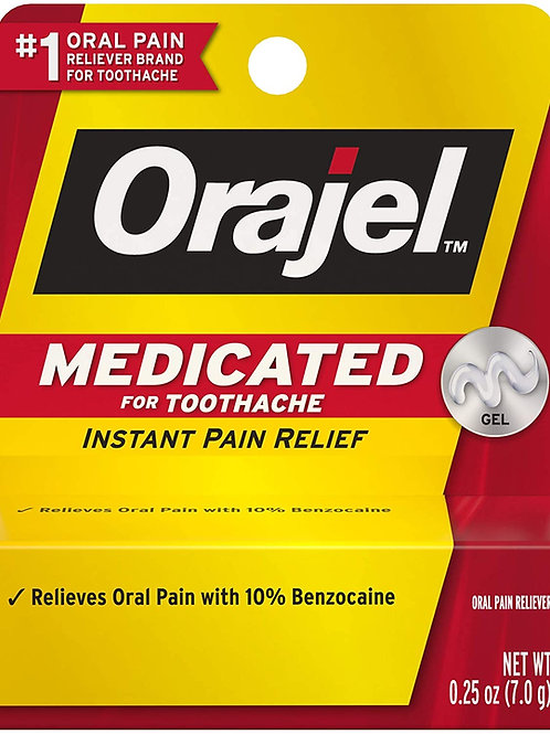 Orajel Medicated For Toothache Gel