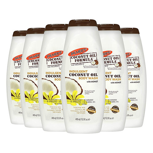 Palmer's Coconut Oil Body Wash With Monoi, 13.5 Ounce (Pack of 6)