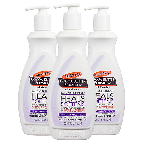 Palmer's Cocoa Butter Formula Fragrance Free Lotion Pump Bottle