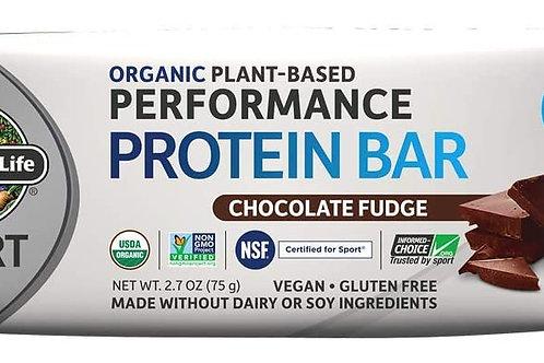 Garden of Life Organic Sport Protein Bar,  Chocolate Fudge (12 Count)