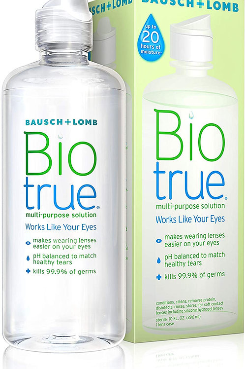 Biotrue Multi-Purpose Contact Lens Solution for Soft Contacts