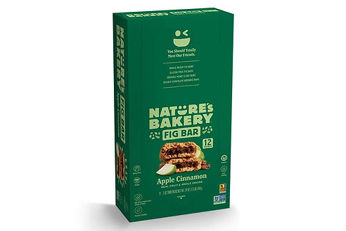 Nature's Bakery Whole Wheat Fig Bars, Apple Cinnamon