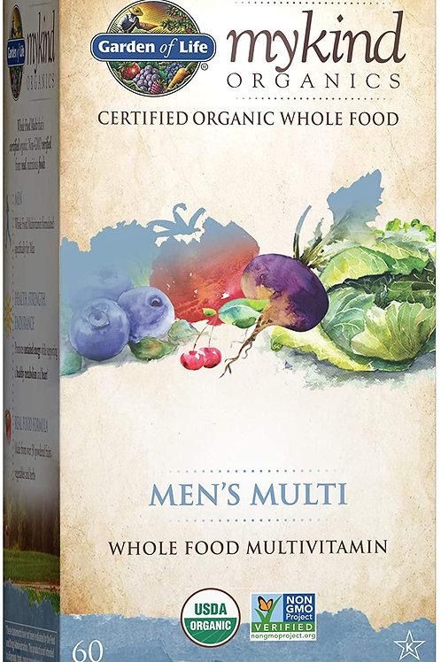 Garden of Life Organics Multivitamin for Men