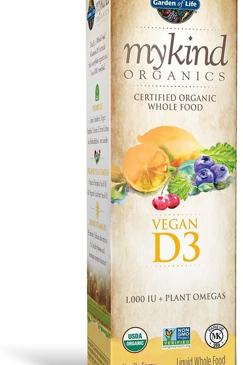 Garden of Life Organics Vegan Vitamin D3 Supplement