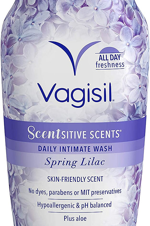 Vagisil Scentsitive Scents Daily Intimate Feminine Wash for Women, Spring Lilac