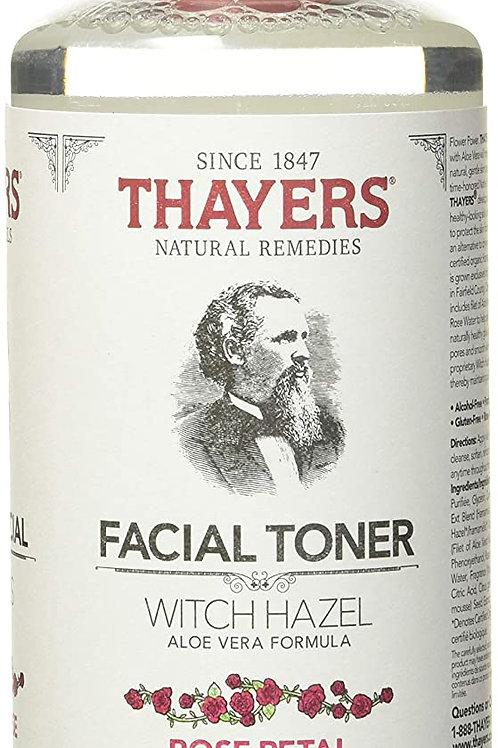THAYERS Witch Hazel Facial Toner with Aloe Vera, Rose Petal