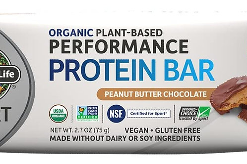 Garden of Life Organic Sport Protein Bar, Peanut Butter Chocolate (12 Count)