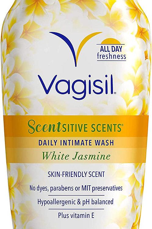 Vagisil Scentsitive Scents Daily Intimate Feminine Wash for Women, White Jasmine
