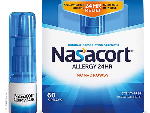 Nasacort Allergy 24-Hour Nasal Spray for Adults