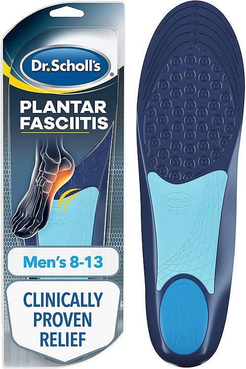 Dr. Scholl's Plantar Fasciitis Pain Relief Orthotics for Men's 8-13