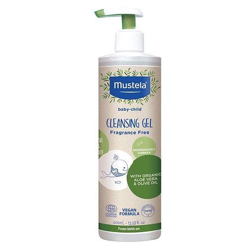 Mustela Baby Cleansing Gel - Natural Hair & Body Wash