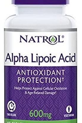 Natrol Alpha Lipoic Acid Timed-Release Tablets