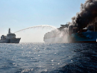 Insurers call for ship industry to tackle container ship fires