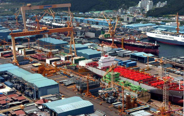 DSME will put its construction unit up for sale as it moves forward with its self-rescue plan. Credit: PA