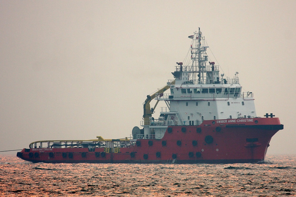 Swiber Anne-Christine is one of the three AHTS vessels Kim Heng acquired for USD9.6 million collectively. Credit: Malte Schwarz