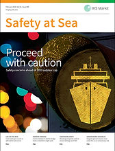 Safety at Sea Awards   First issue of Safety at Sea Awards May 1967