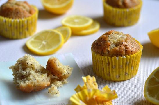 Lemon and Poppy Seed Sugar Crunch Muffins