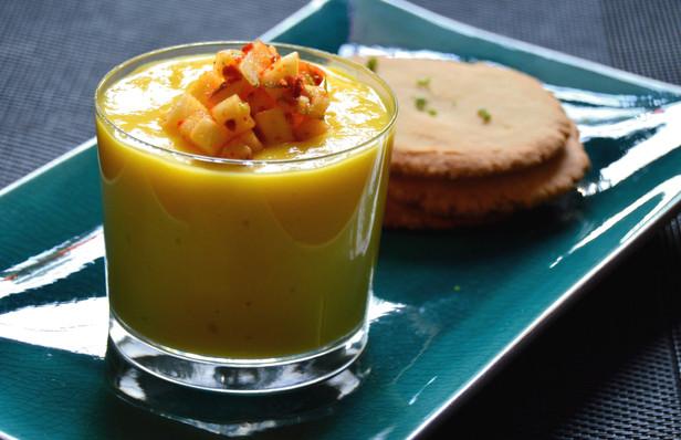 Mango Lassi Pudding