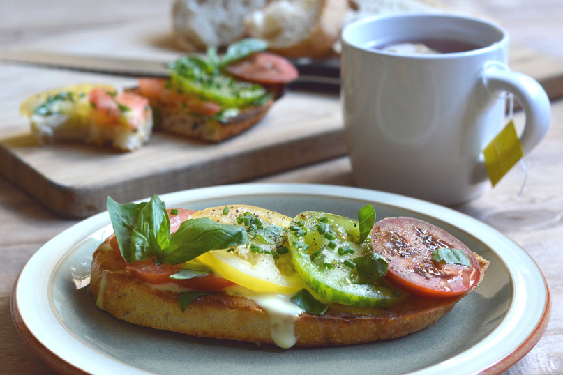 Totally Terrific Tomatoes on Toast