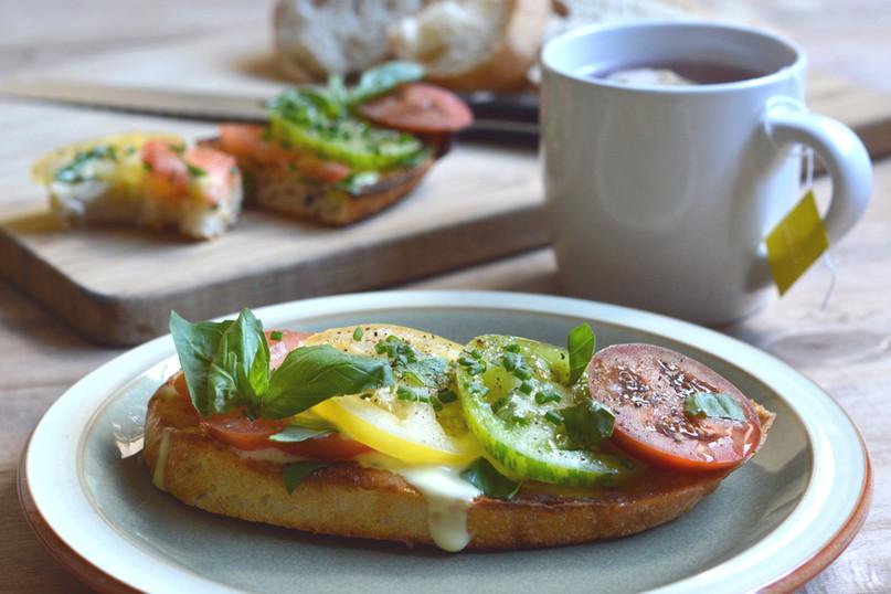 Totally Terrific Tomatoes on Toast