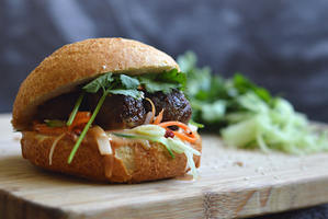 Viet-Vegan Banh-Mi Sandwich
