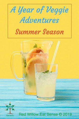 A Year of Veggie Adventures -Summer