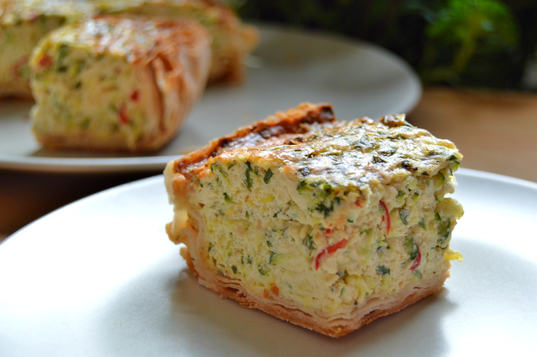 Chilli Cream Cheese Zu-quiche