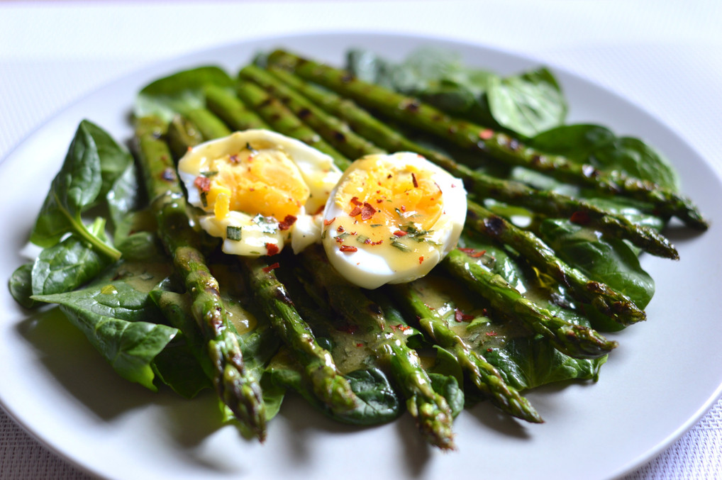 English Brunch bbq Salad
