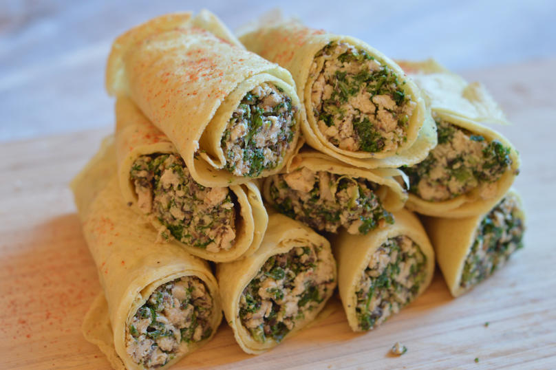 French Foragers Fromage and Quorn Crepes
