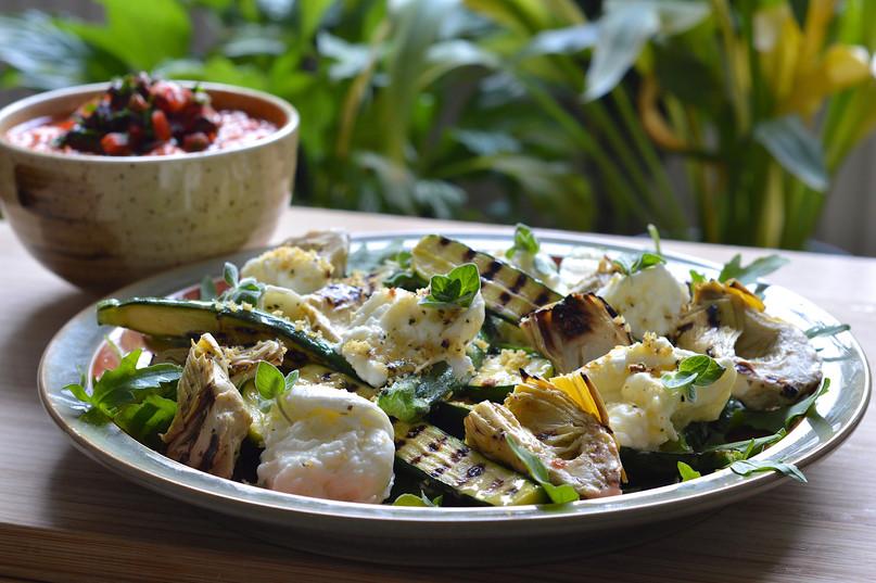 Sicilian Zucchini and Bufala Salad