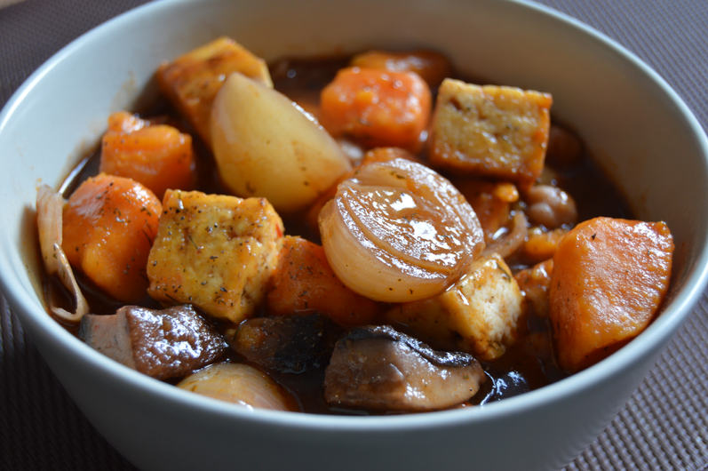 Cheats Fast Feto Bourguignon with a Dill Twist