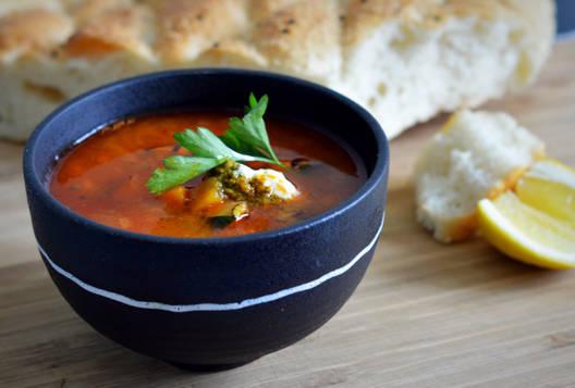 Warming Moroccan Medina Soup