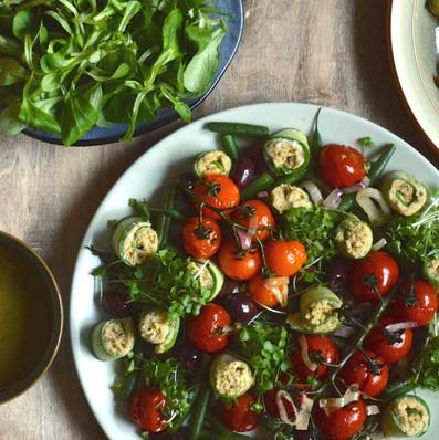 Stylish Nicoise Salad