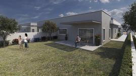 אחוזת אתרוג - מרכז שפירא   בבניה