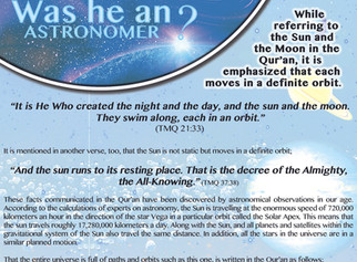 Islamic Exhibition Posters - Scientific Miracles in the Qur'an No. 9