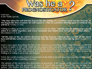Islamic Exhibition Posters - Scientific Miracles in the Qur'an No. 19