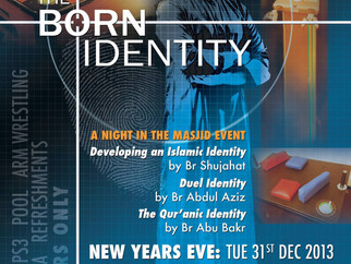 The Born Identity - A Night in the Masjid Event