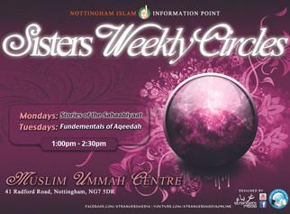 Sisters Weekly Circles