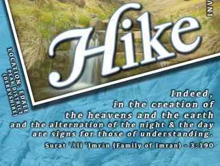 The U'lul Absar Hike (those of vision)