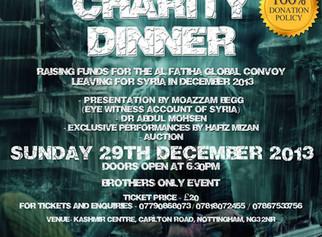 Nottingham 2 Syria - Charity Dinner