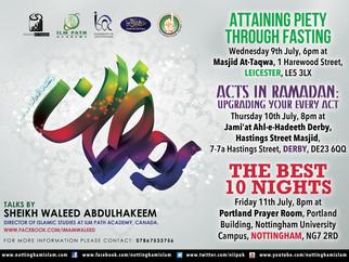 Ramadan Talks