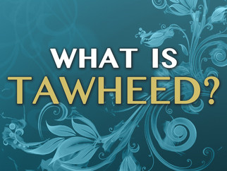 *New* Da'wah Pamphlets - What Is Tawheed?