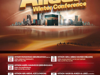 Flee To Allaah Winter Conference by Various Speakers