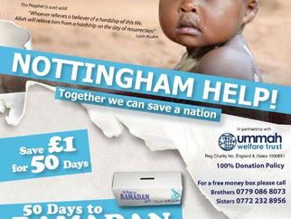 50 Days To Ramadan Appeal