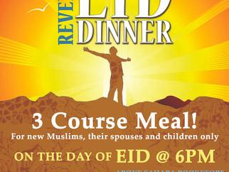 Revert's Eid ul-Fitr Dinner 2014