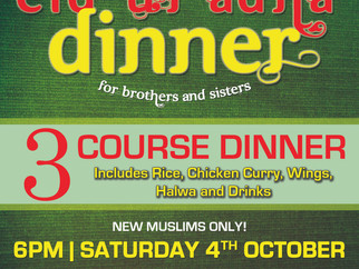 Revert's Eid ul-Adha Dinner 2014