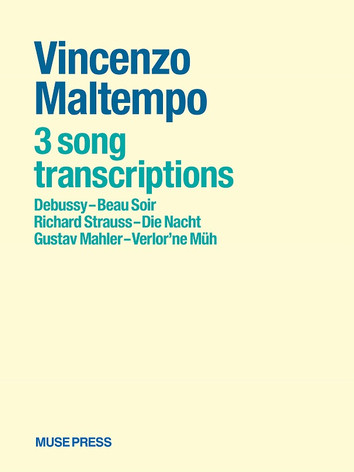 Three free transcriptions of songs by Debussy, Strauss, Mahler